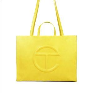 Telfar Shopping Bag Large-Yellow